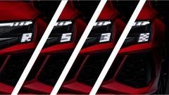 Nuova Audi RS3 Sportback: le luci a LED dinamiche