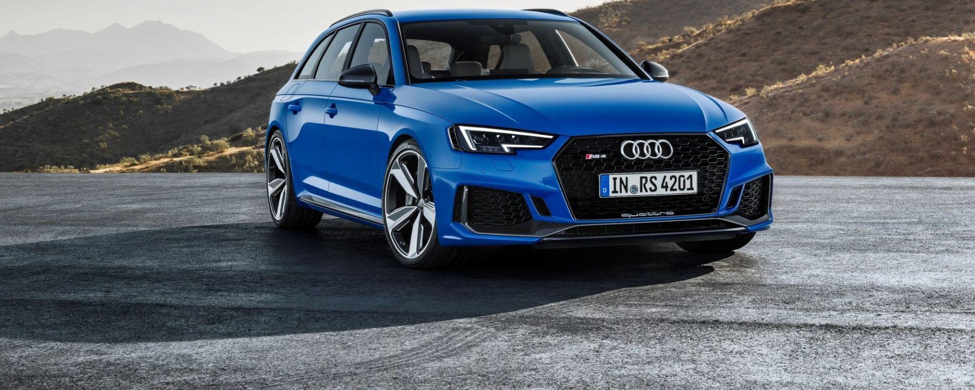 Nuova Audi RS4 Avant: prezzi e allestimenti