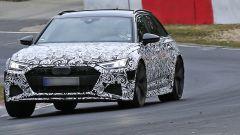 Nuova Audi RS6 Avant, eccola mentre scalda i muscoli al Ring - Immagine: 2