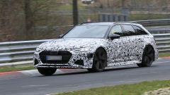 Nuova Audi RS6 Avant, eccola mentre scalda i muscoli al Ring - Immagine: 4