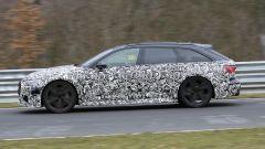Nuova Audi RS6 Avant, eccola mentre scalda i muscoli al Ring - Immagine: 5