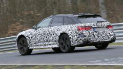 Nuova Audi RS6 Avant, eccola mentre scalda i muscoli al Ring - Immagine: 6