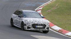 Nuova Audi RS6 Avant, eccola mentre scalda i muscoli al Ring - Immagine: 10