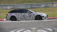 Nuova Audi RS6 Avant, eccola mentre scalda i muscoli al Ring - Immagine: 13