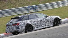 Nuova Audi RS6 Avant, eccola mentre scalda i muscoli al Ring - Immagine: 14