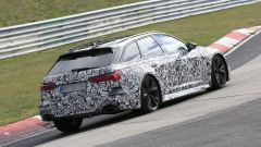 Nuova Audi RS6 Avant, eccola mentre scalda i muscoli al Ring - Immagine: 15