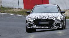 Nuova Audi RS6 Avant, eccola mentre scalda i muscoli al Ring - Immagine: 16
