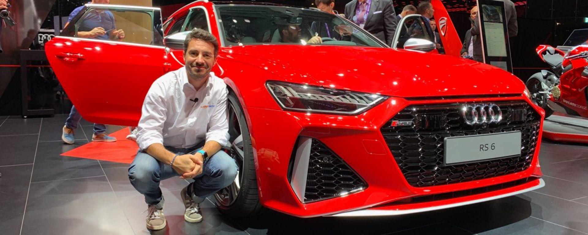 Nuova Audi RS6 Avant a Francoforte 2019