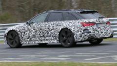 Nuova Audi RS6 Avant, foto spia al Nurburgring