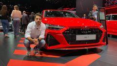 Audi RS7 Sportback in video dal Salone di Francoforte 2019 - Immagine: 1