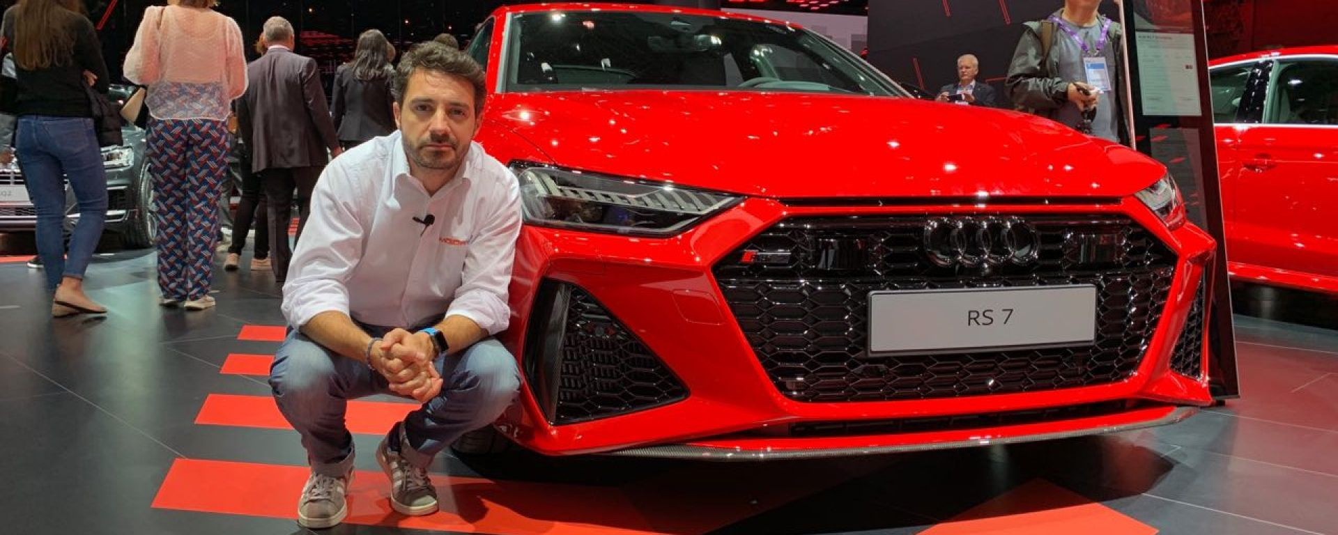 Audi RS7 Sportback in video dal Salone di Francoforte 2019