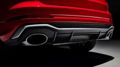 Nuova Audi RSQ3: dettaglio terminali di scarico