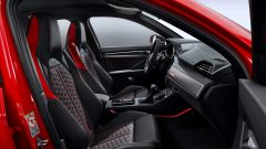 Nuova Audi RSQ3: i sedili anteriori