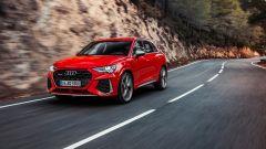 Nuova Audi RSQ3: l'anteriore