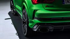 Nuova Audi RSQ3 Sportback: dettaglio terminali di scarico