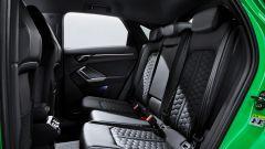 Nuova Audi RSQ3 Sportback: i sedili posteriori