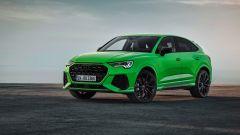 Nuova Audi RSQ3 Sportback: l'anteriore