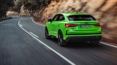 Nuova Audi RSQ3 Sportback: vista 3/4 posteriore