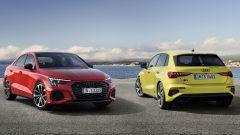 Nuova Audi S3: le due versioni Sedan e Sportback