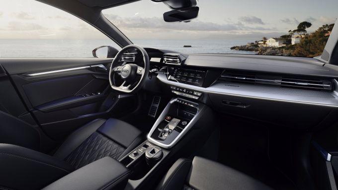 Nuova Audi S3 Sedan: gli interni