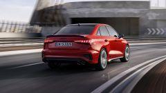Nuova Audi S3 Sedan: visuale di 3/4 posteriore