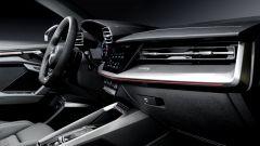 Nuova Audi S3 Sportback: particolare degli interni