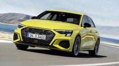 Nuova Audi S3 Sportback: vista anteriore