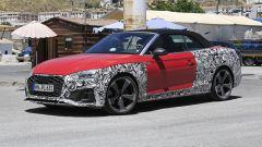 Nuova Audi S5 Cabrio 2021: modifiche al frontale
