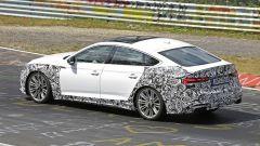 Nuova Audi S5 Sportback 2021: la vista posteriore