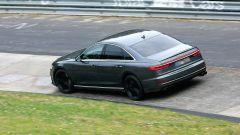 Nuova Audi S8 2019: vista 3/4 posteriore