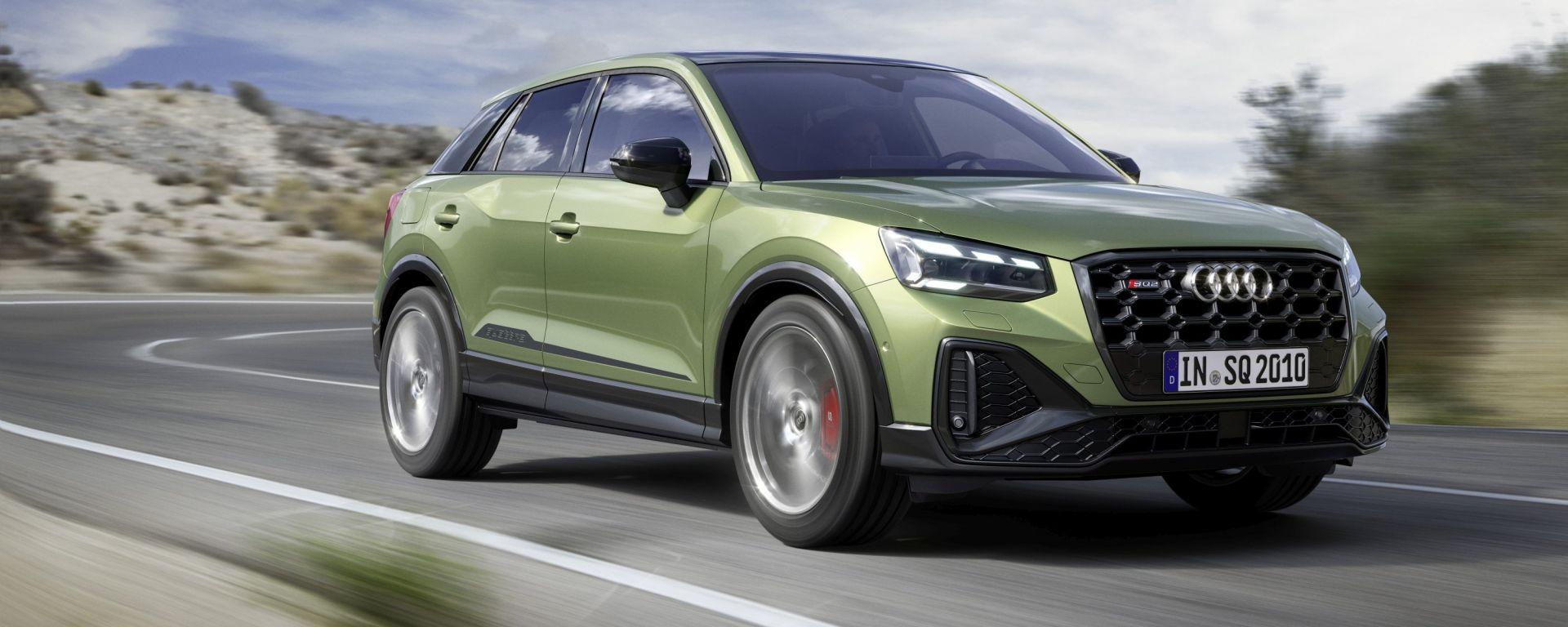 Nuova Audi SQ2: 300 CV e 400 Nm