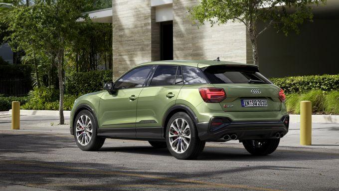 Nuova Audi SQ2: trazione quattro e cambio S tronic