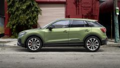 Nuova Audi SQ2: visuale laterale