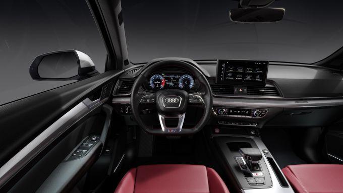 Nuova Audi SQ5: interni