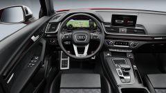 Nuova Audi SQ5: la plancia
