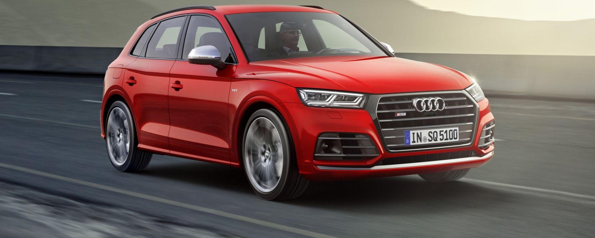 Nuova Audi SQ5: la prova su strada