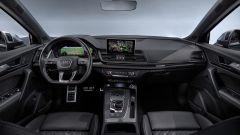 Nuova Audi SQ5 TDI 2019: gli interni