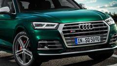 Nuova Audi SQ5 TDI 2019: la calandra sportiva