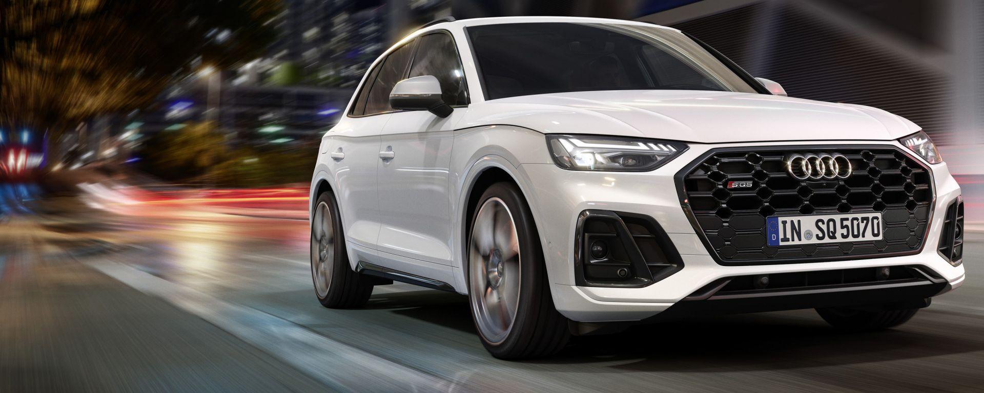 Nuova Audi SQ5 TDI, in Italia ad aprile 2021