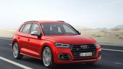 Nuova Audi SQ5: vista 3/4 anteriore