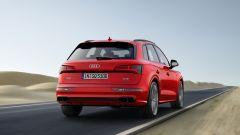 Nuova Audi SQ5: vista 3/4 posteriore