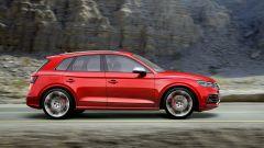 Nuova Audi SQ5: vista laterale