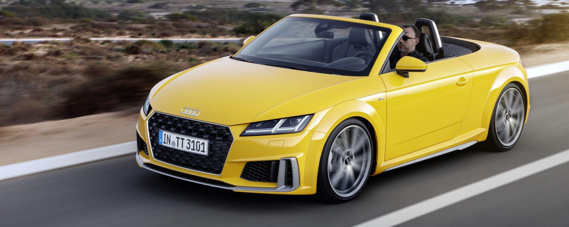 Nuova Audi TT frontale