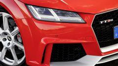 Nuova Audi TT RS 2017: dettaglio  del frontale