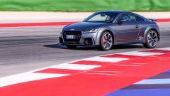 Nuova Audi TT RS 2017: la prova in pista