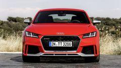 Nuova Audi TT RS 2017: vista frontale