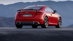 Nuova Audi TT RS posteriore