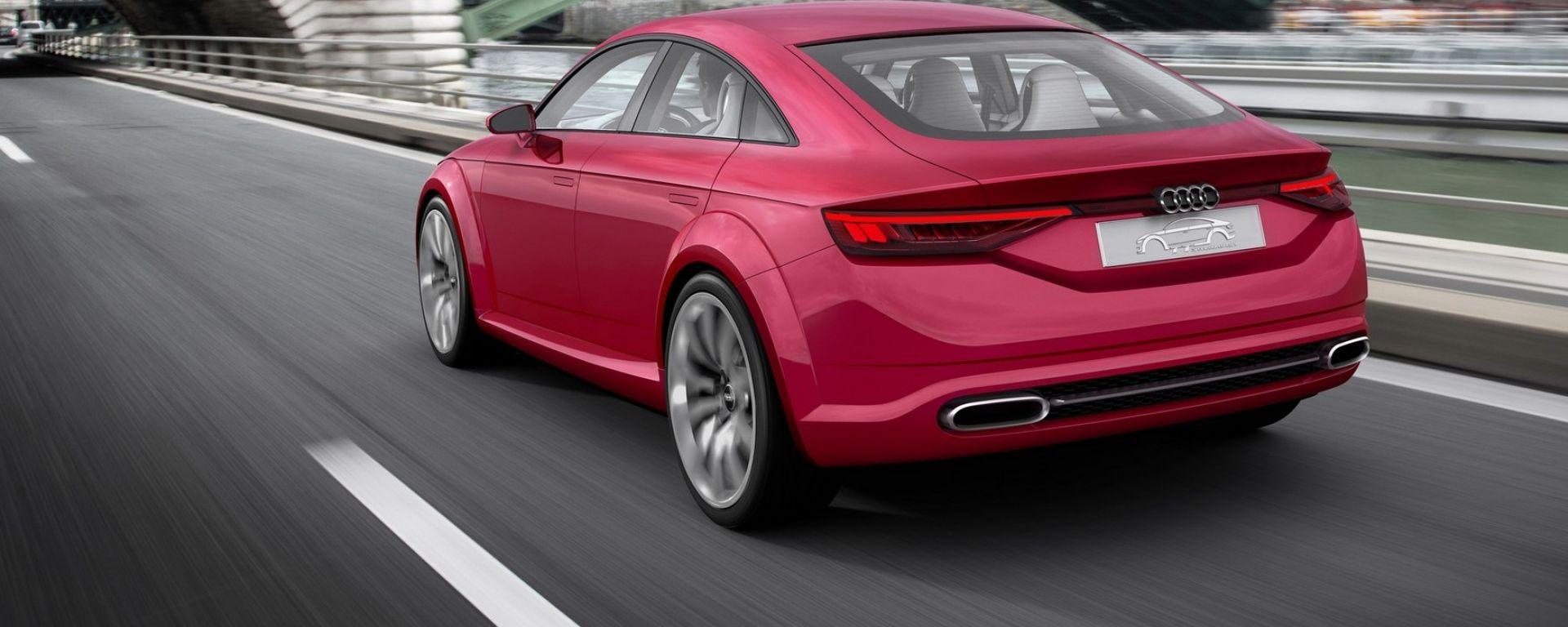 Nuova Audi TT, sarà un coupé a 4 porte