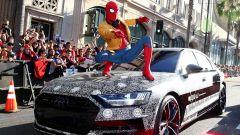 Nuova Audi A8 2017 fida compagna di Spiderman Homecoming
