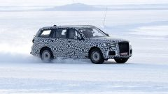 Nuova Aurus Komendant: il SUV sarà lungo 5,5 metri
